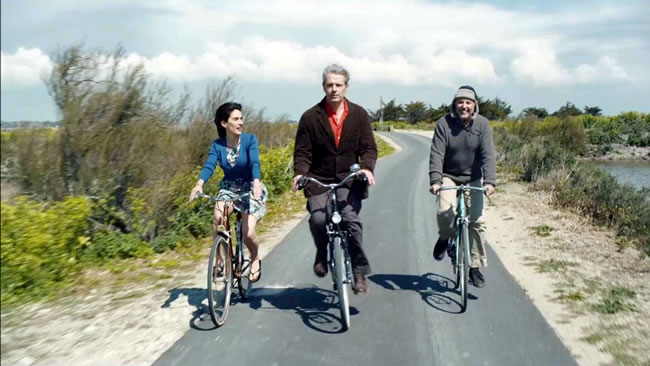 Movie CYCLING WITH MOLIERE (France) 2013 Dir. Philippe Le Guay
