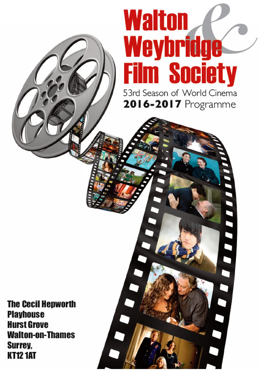 Programme Of Films at Walton & Weybridge Film Socirty